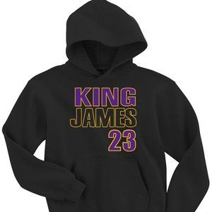 Lebron James Los Angeles Lakers YOUTH SMALL HOOD